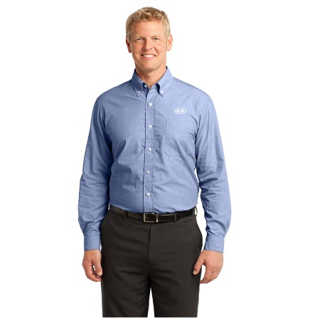 Cross Hatch Easy Care Mens Shirt